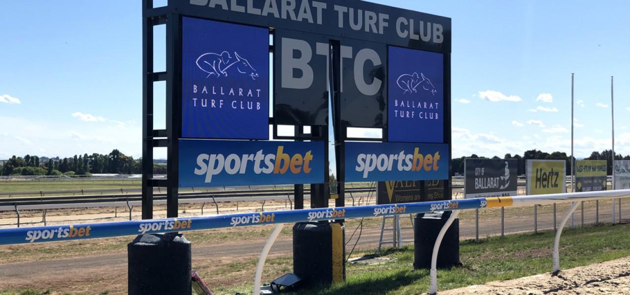 Racing Victoria, Ballarat Turf Club – LED Signage Installation