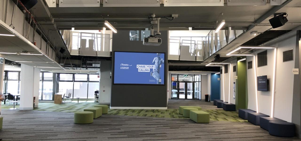 Chisholm Institute – Mega Wall & Presentation Projection