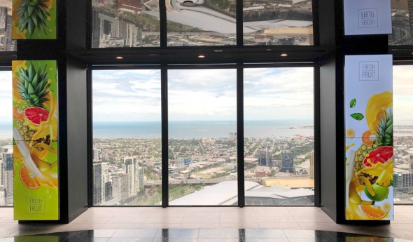 Landence Group – Portrait Video Walls at the Rialto Tower