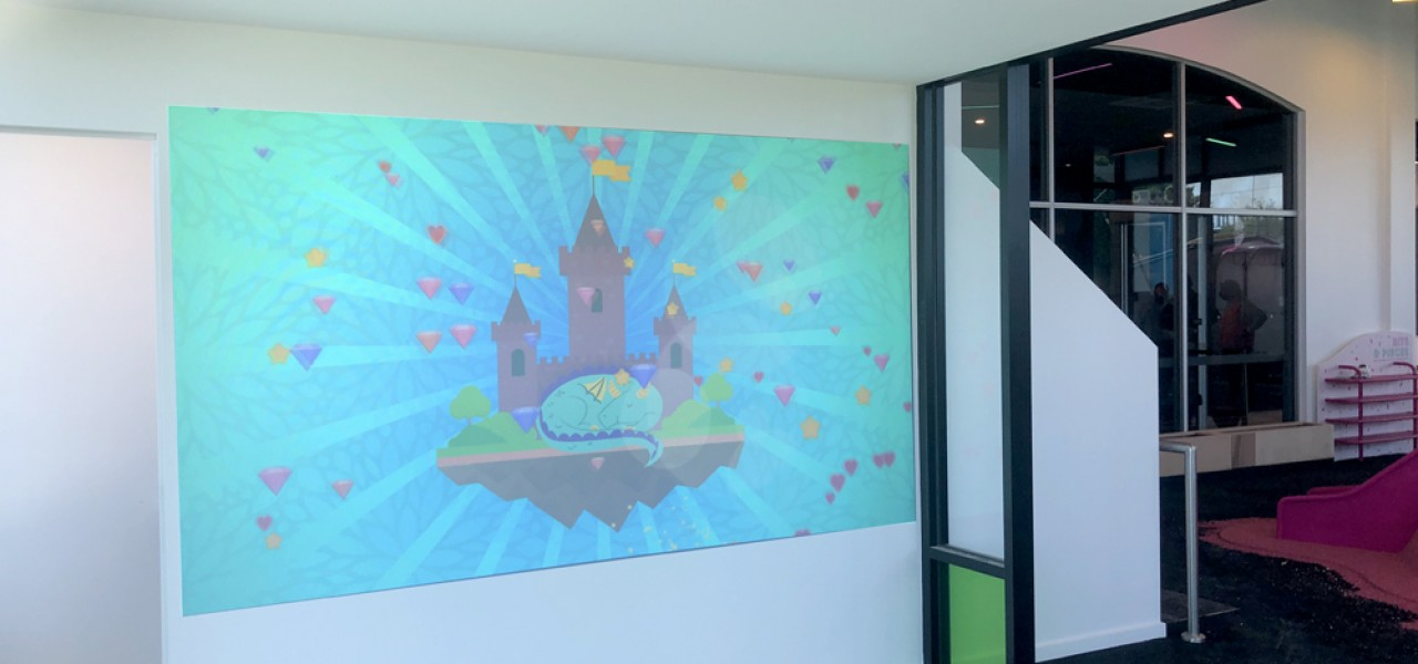 Buckley's Entertainment Centre – Motion Interactive Wall Projection