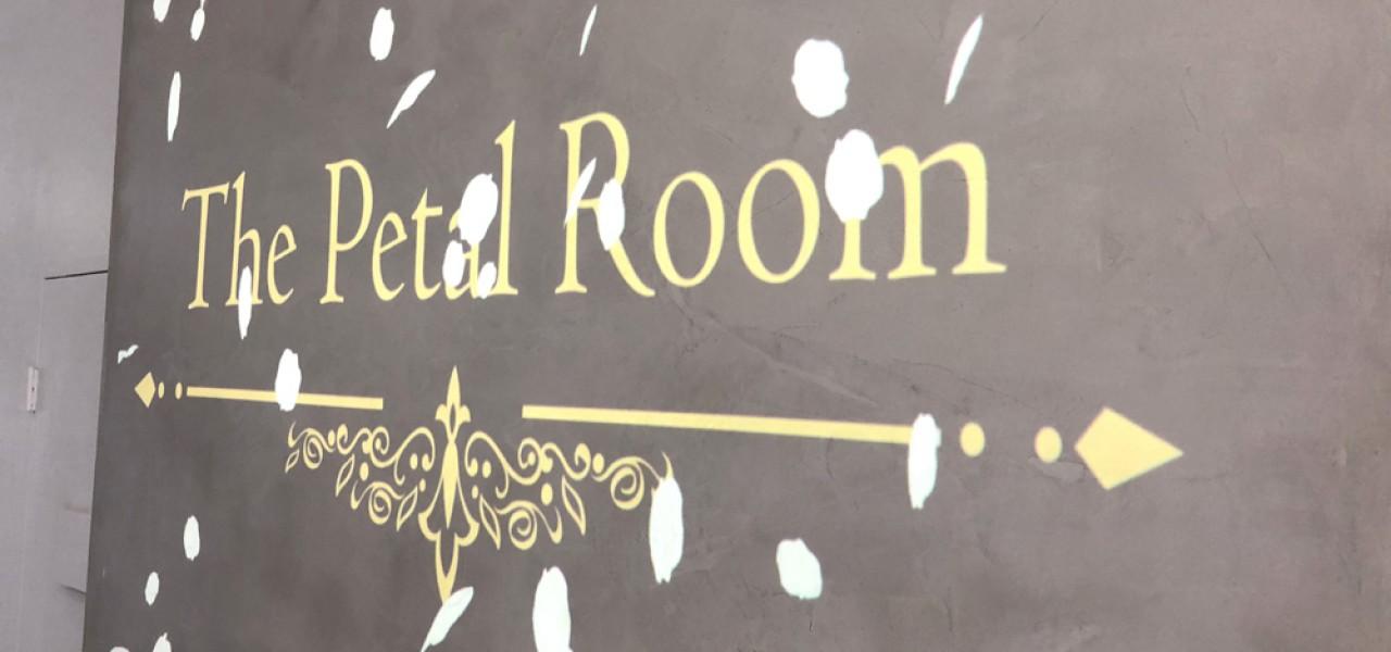 The Petal Room – Epson LightScene EV-100 Digital Signage Projector