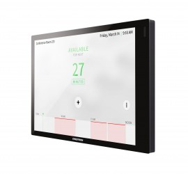 crestron TSS-770-B-S touch screen room booking system melbourne australia