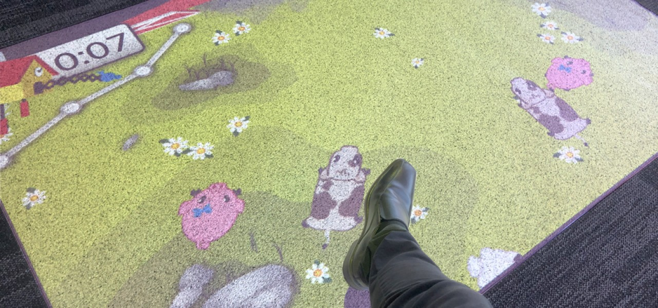 Brimbank City Council, Sunshine Library – Interactive Floor Projection