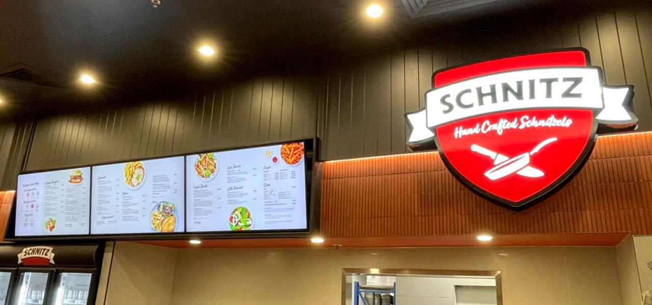 Schnitz, Northland – Digital Menu Boards